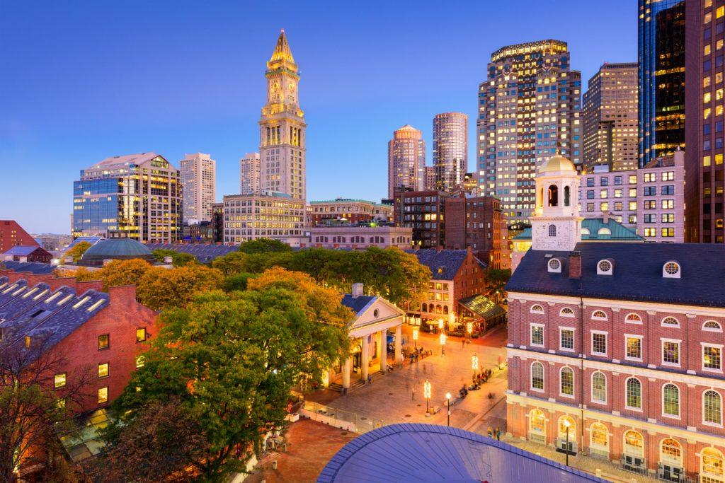 Boston Skyline Travel