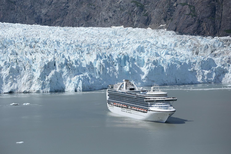 Hubbard Glacier Alaska Boat