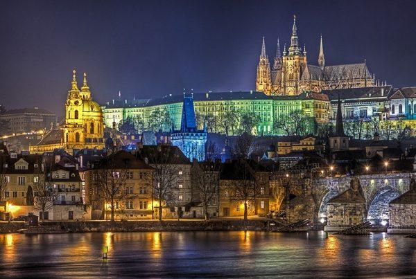 Charles Bridge Prague Cityscape