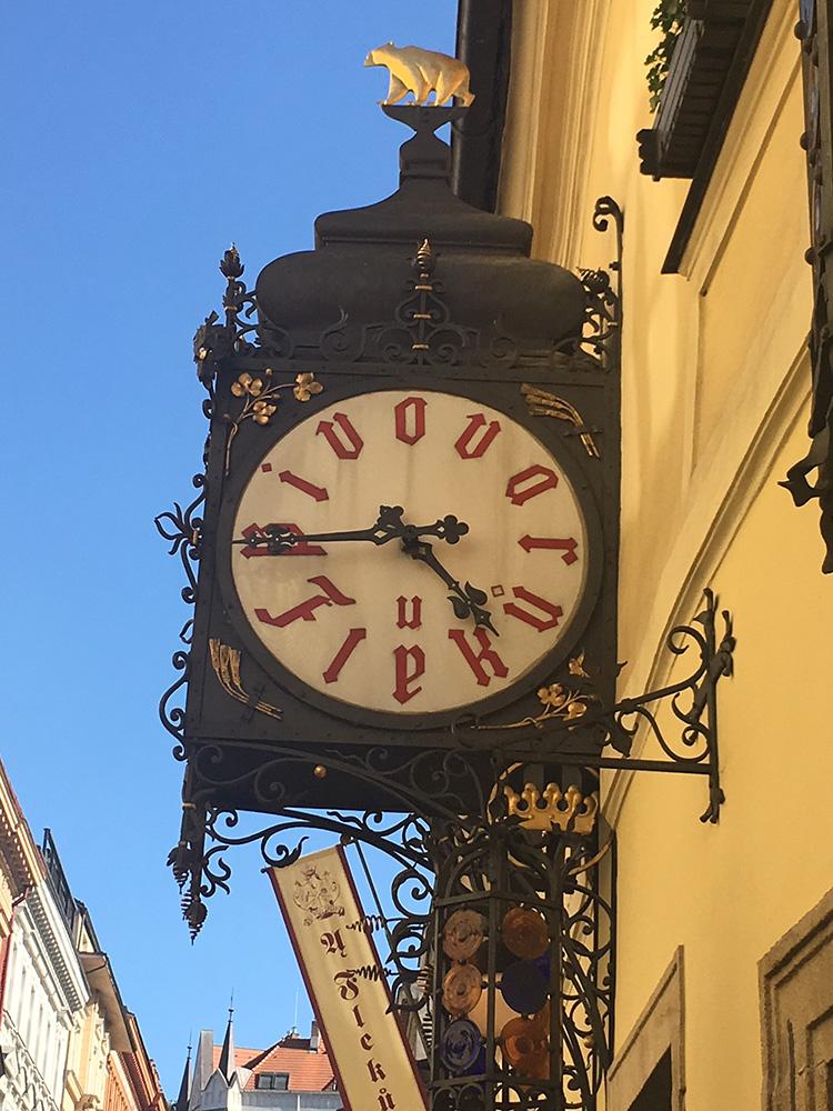 U Fleku Clock
