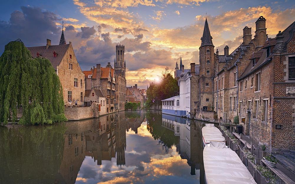 West Flanders Bruges Belgium