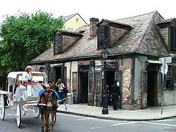 Jean Lafitte's Blacksmith shop