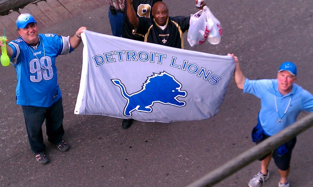 Detroit Lions Fan Trip