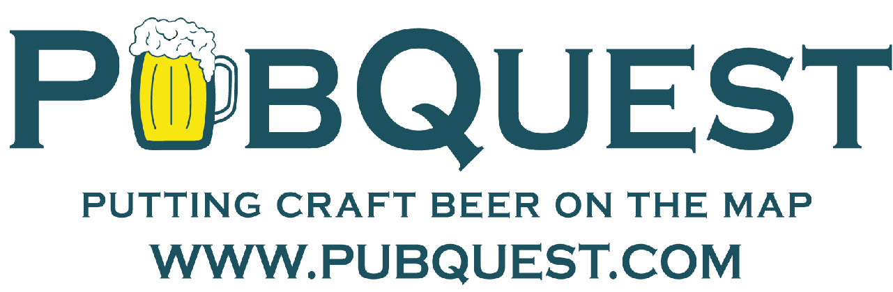 PubQuest Logo with web address