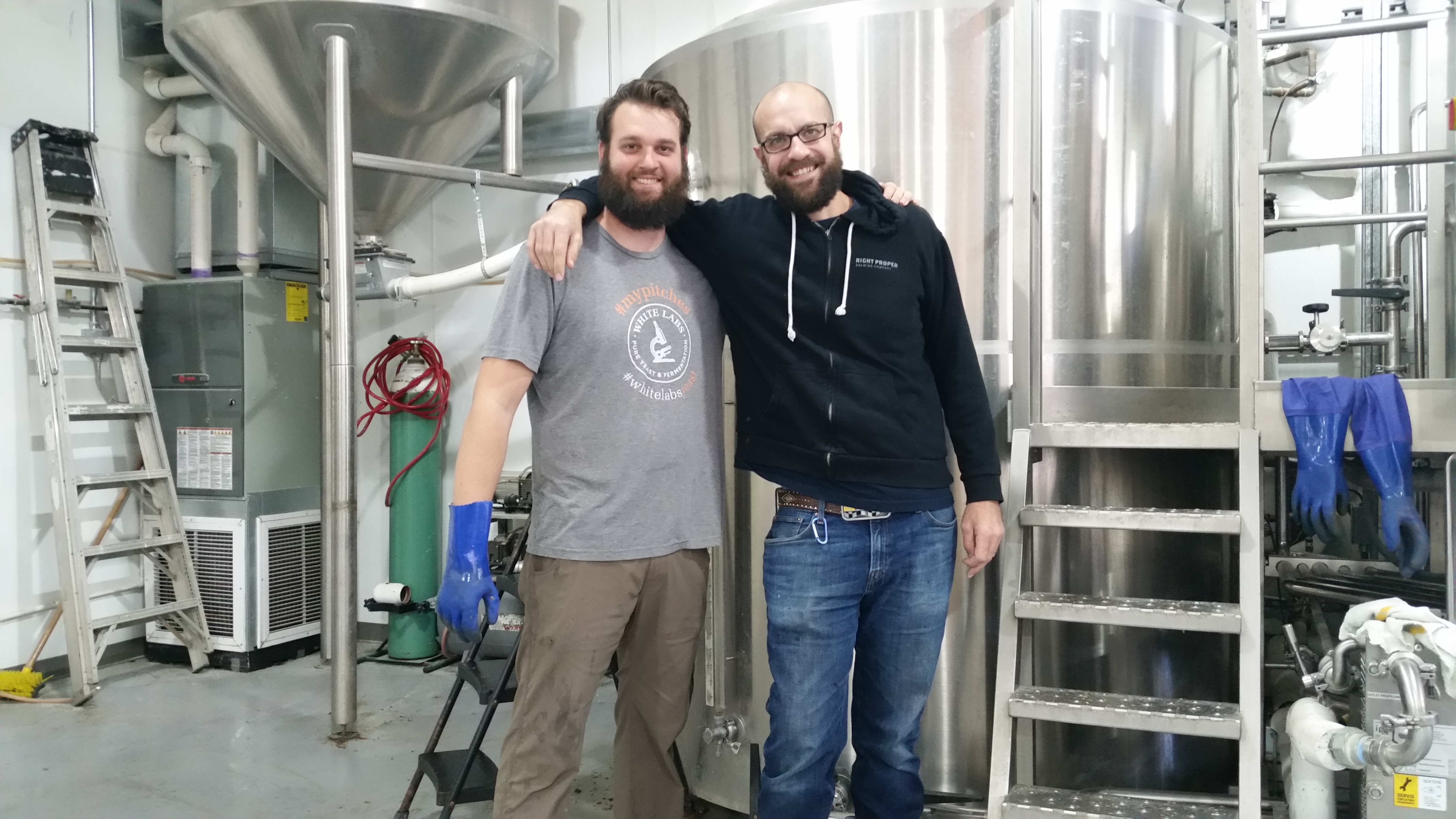 Thor Cheston and John Snedden, Right Proper Brewing Company