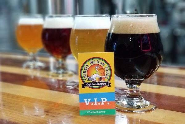 Thirsty Pelican Tours and Play Harder Tours in St Petersburg Beer Tour Collaboration