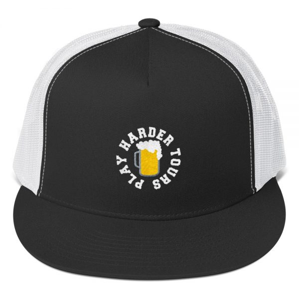 Play Harder Tours Trucker Cap
